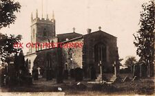 LEICESTERSHIRE - REARSBY, St.Michael and All Angels Church. Real Photo Postcard