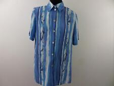 """Womens Hawaiian Shirt Floral Print Multi 38"""" Good/Vgc SKU NO WB754"""