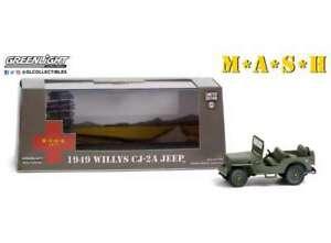 M*A*S*H 4077th 1949 WILLYS CJ 2A JEEP model TV series 1:43rd GREENLIGHT 86592