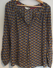 Boden womens Long Sleeve Top Size 10