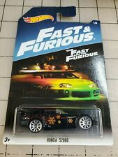 Hot Wheels Honda S2000 Black Fast And Furious 1/8