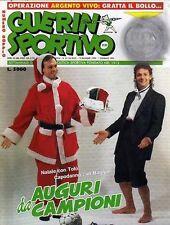 GUERIN SPORTIVO=N°51/52 1990=13°  CAMP.90/91=SPECIALE MILAN MONDIALE