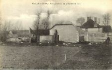 cpa CAMP DE MAILLY 14-18 bombardement du 9 sept 1914