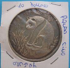10 Yuan d'argento Cina Panda 1993 - BB+ - AG- nr. 742
