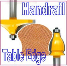 "2 pc 1/2"" Shank Handrail and Table Edge Router Bit Set sct 888"