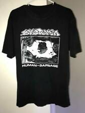 DYSTOPIA 'Human=Garbage' T Shirt Vintage Gift For Men Women Funny Tee