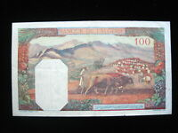ALGERIA 100 FRANCS 1945 P85 ALGERIE SHARP 850# BANK CURRENCY BANKNOTE MONEY