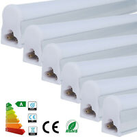 1 4 10x T5 9W 2ft 60cm 48SMD LED Fluorescent Tube Light Day Warm White Bar Lamp