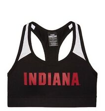 Victoria Secret PINK Ultimate UNIVERSITY OF Indiana Sport bra L NEw In Package