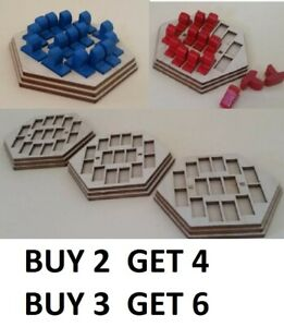 Settlers of Catan Seafarers expansion ship holder BUY 2 GET 4 or BUY 3 GET 6