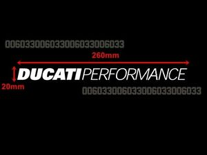 Motorcycle Sticker Decal for Ducati 996 1098 Monster Diavel Street Fighter #33