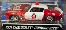 MAISTO 71 1971 CHEVROLET CAMARO Z/28 RESCUE FORCE FIRE CHEVROLET PRO STREET CAR