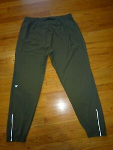 "EUC Lululemon Men's Surge Joggers Size XL Olive Green Inseam 29"""