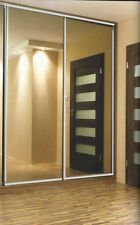 3 Door Sliding Wardrobe System with tracks - customised to your measurements