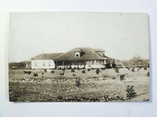 RPPC TX. RANCH HOUSE IN PARRITA, TEXAS! UNPOSTED REAL PHOTO POSTCARD TEX. #301