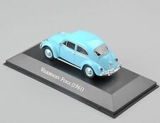 1/43 Scale Atlas Volkswagen Fusca 1961 Classic Alloy Vehicles Car Truck Model