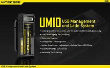 NiteCore USB Ladegerät UM10 USB-Lader