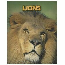 Lions (Living in the Wild: Big Cats)-ExLibrary