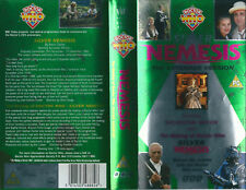Dr Who, Silver Nemesis, Extended Version starring Sylvester McCoy on VHS Video