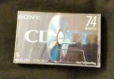 SONY CD-IT High Bias Type II blank Cassette media