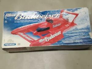 ProBoat RC UL-1 BUDWEISER Hydroplane HULL & CANOPY ONLY **LIPO CONVERSION?