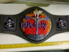 Wwf Jakks.Kids. . The Undertaker Championship Title Belt.Super Rare.Ilkeston