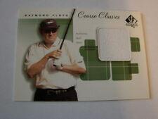 2002 SP Authentic Course Classics Raymond Floyd Shirt Card (B21)