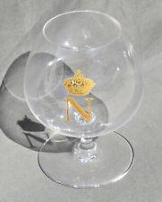 BACCARAT BRANDY GLASS VERRE A COGNAC CRISTAL OR NAPOLEON EMPIRE COURONNE ROYALE