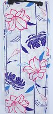 浴衣 Yukata japonais - Floral Blanc Bleu - Import direct Japon 1501