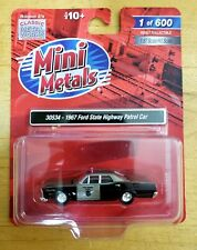 Mini Metals 30534 1967 Ford State Highway Patrol Car 1:87 HO Scale LIMITED /600