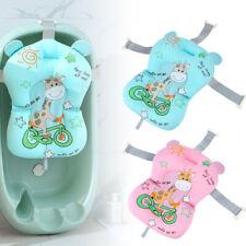 Baby Duschmatte Badewannenkissen für Neugeborene Rutschfestes Badkissen Badesitz