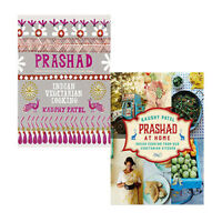 Kaushy Patel Collection 2 Books Set Prashad Cookbook and Prashad At Home, NEW