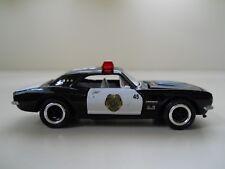 JOHNNY LIGHTNING - LIGHTNING PATROL 1967 CHEVROLET CAMARO POLICE CAR - 1/64