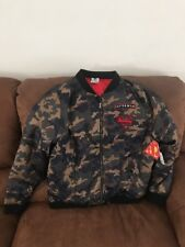 Camo Superman Jacket Dc Comics New With Tags Size Large Mens