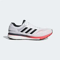 Adidas Adizero Boston Running Sneakers Boost Shoes White Size 11.5 B37381