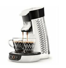 Philips Senseo HD6569 Viva Café Style Kaffeepadmaschine Weiß / Schwarz SD742 B