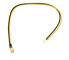 Molex Lüfterkabel 3pin auf 2pin Adapter 3pin Stecker auf 2pin Buchse