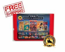 218 in 1 Multi Cartridge Retro Game Sega Genesis Mega Drive PAL NTSC Console
