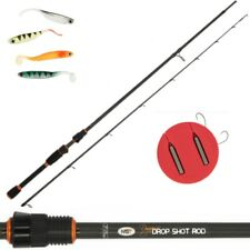 NGT Dynamic 7ft Drop Shot Spinning Carbon Fishing Rod + FREE 4PC Drop Shot Kit
