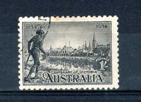 Australia 1934 1s Centenary of Victoria perf 10 1/2 FU CDS
