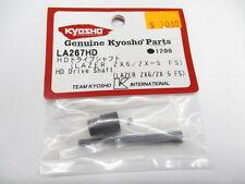 Genuine Kyosho ZX6 ZX-5 FS Heavy Duty Drive Shaft Set #LA267HD OZ RC Models