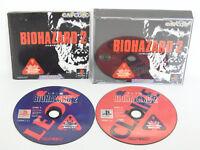 BIOHAZARD 2 Resident Evil Item Ref/ccc PS1 Playstation Japan Game p1