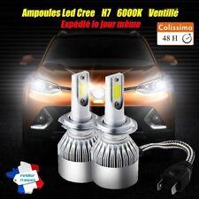 Ampoules Led Cree H7 6000K Cob Tuning Feux Phare Route Xenon hid BMW E36 E39 E46