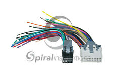 Reverse Radio Wiring Harness OEM Factory Stereo Installation METRA 71-2003-1