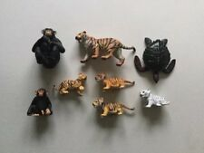 Tiger Chimp Otter And Turtle Figure Collection