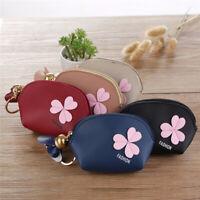 Women Mini Coin Purse Zipper Bag Keychain Cute Wallet Pouch Friend Gift ONE