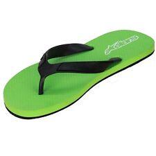 New Alpinestars Men's Flip Flops ~ Advocate Green Black A Stars Alpine sz 8