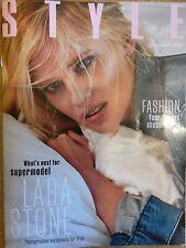 Sunday times style magazine Lara Stone