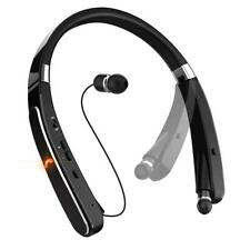 Wireless Bluetooth Headset Retracting Earbuds Folding Headset iPhone Android Usa