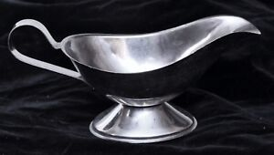 Salvaged Waldorf Stainless Steel Sauce Boat